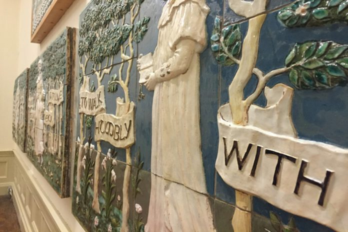 della robbia pottery at williamson art gallery
