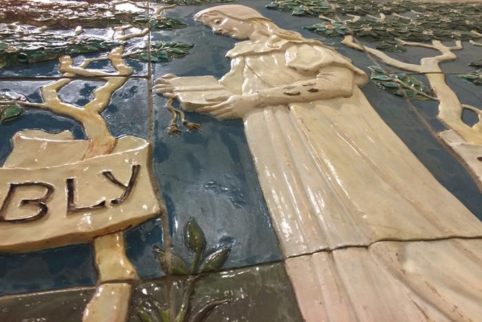 della robbia pottery at williamson art gallery