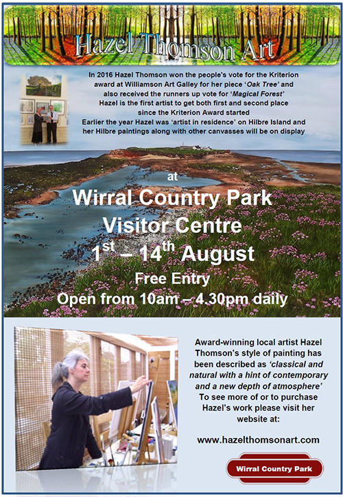 Wirral Country Park: Hazel Thomson
