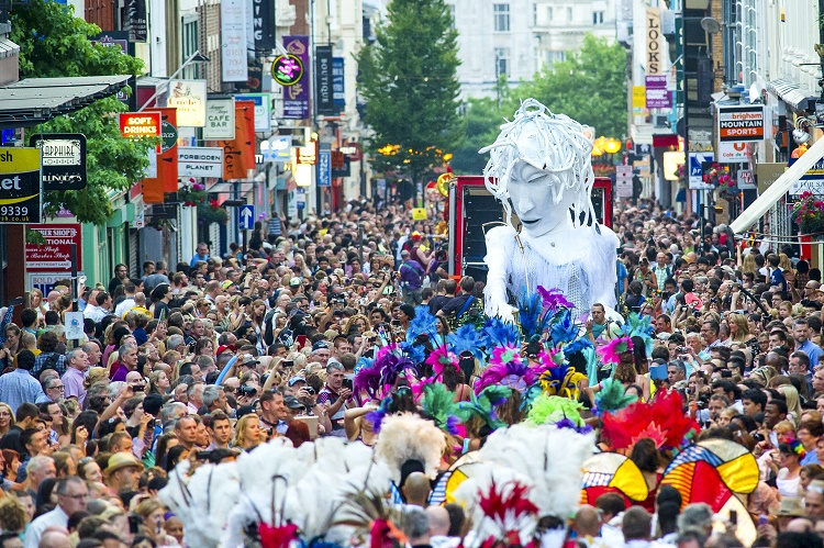 Liverpool City Centre: Brazilica 2016 Carnival and Parade