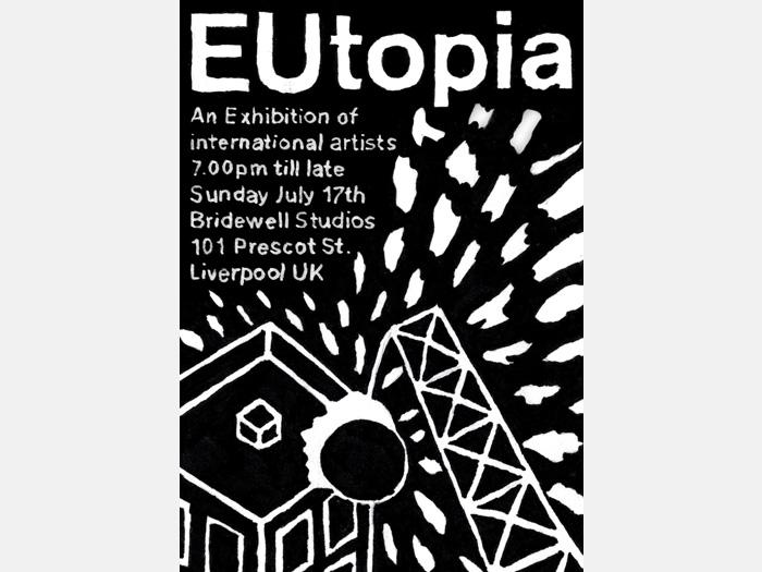 Bridewell Studios: EUtopia exhibition