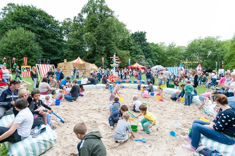 Sefton Park: Liverpool International Music Festival (LIMF) Family Zone