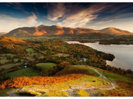 'Autumn from Catbells' by Tom Jeffers
