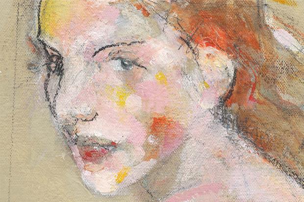 Susan, oil on canvas, 2014, Peter Macaulay