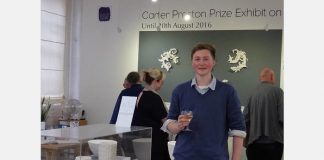 Carter Preston exhibition Winner 2016, Lanty Ball