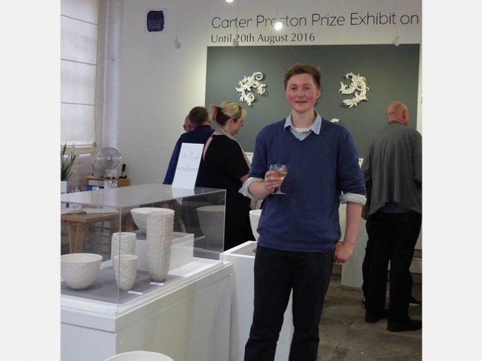 Carter Preston exhibition Winner 2016, Lanty Ball