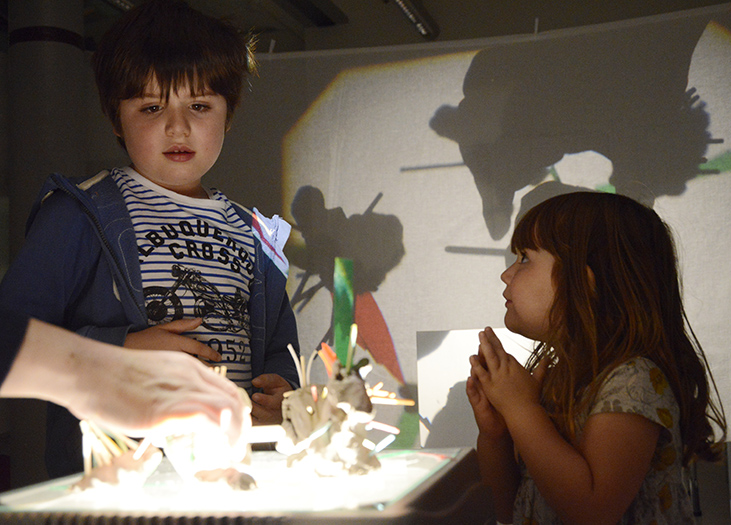 Tate Liverpool: Family Workshops: CLAY WORLDS
