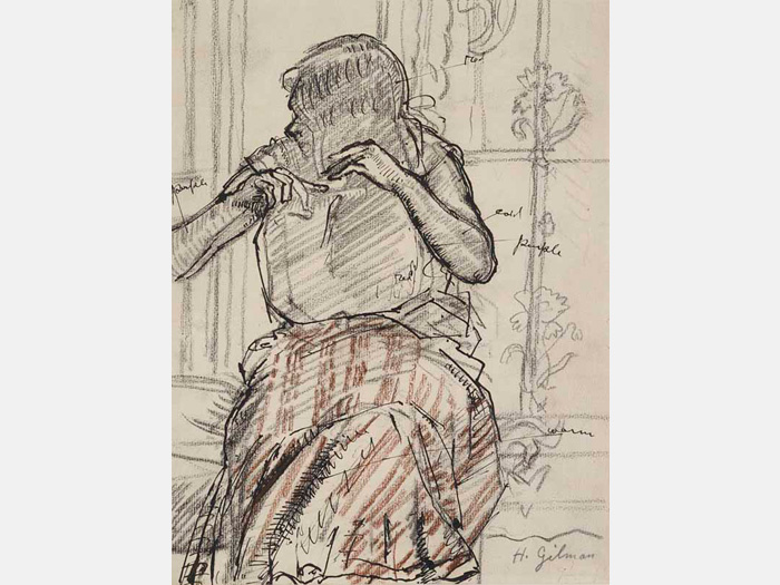 Kirkby Gallery: Drawing From Life: People on Paper