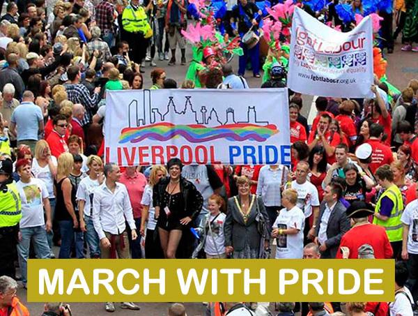Liverpool Pride March