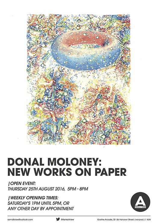 Donal Moloney: New Works On Paper