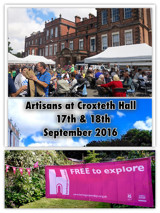 Artisans at Croxteth Hall - Open Heritage Days