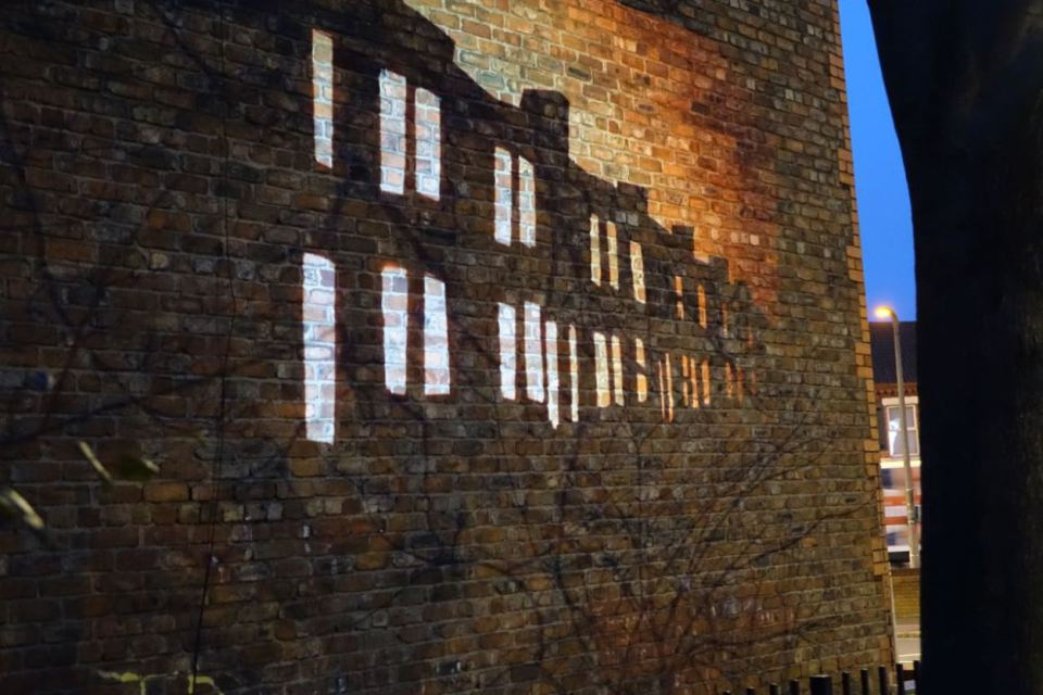 Red Brick Vintage: Without These Walls: Peaceful Warrior
