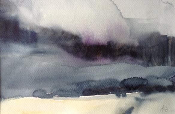 New Brighton: Janine Pinion Watercolour Summer School