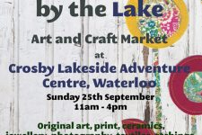 Art by the Lake poster Sept 2016