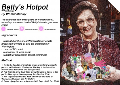 Warrington Museum: WCAF 16: Betty's Hotpot, by Womanstanley