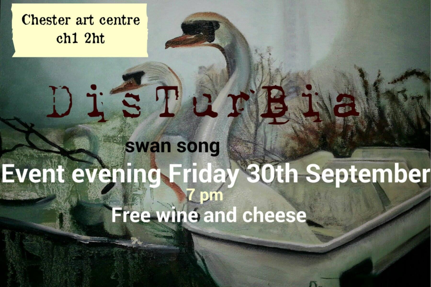 Chester Art Centre: DisTurBia, Bryn Sutcliffe