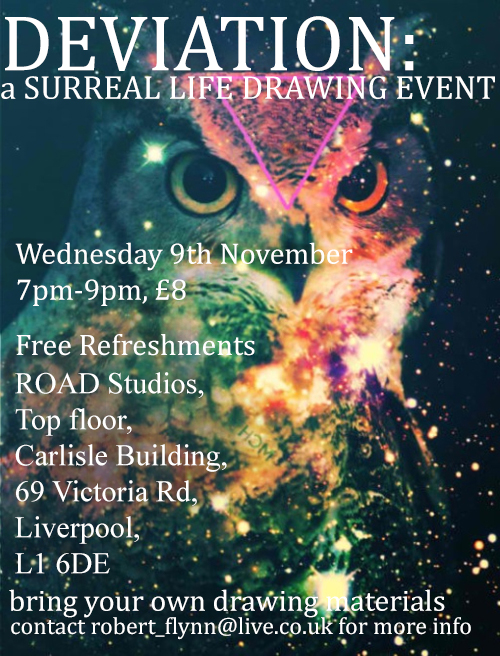 Road Studios: Deviation: a Surreal Life Drawing Experience