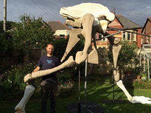 Gavin Rymill's Dinosaur, at Birkenhead Priory 26th-30th October 2016