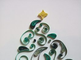 Quaker Meeting House: Christmas Quilling Workshop