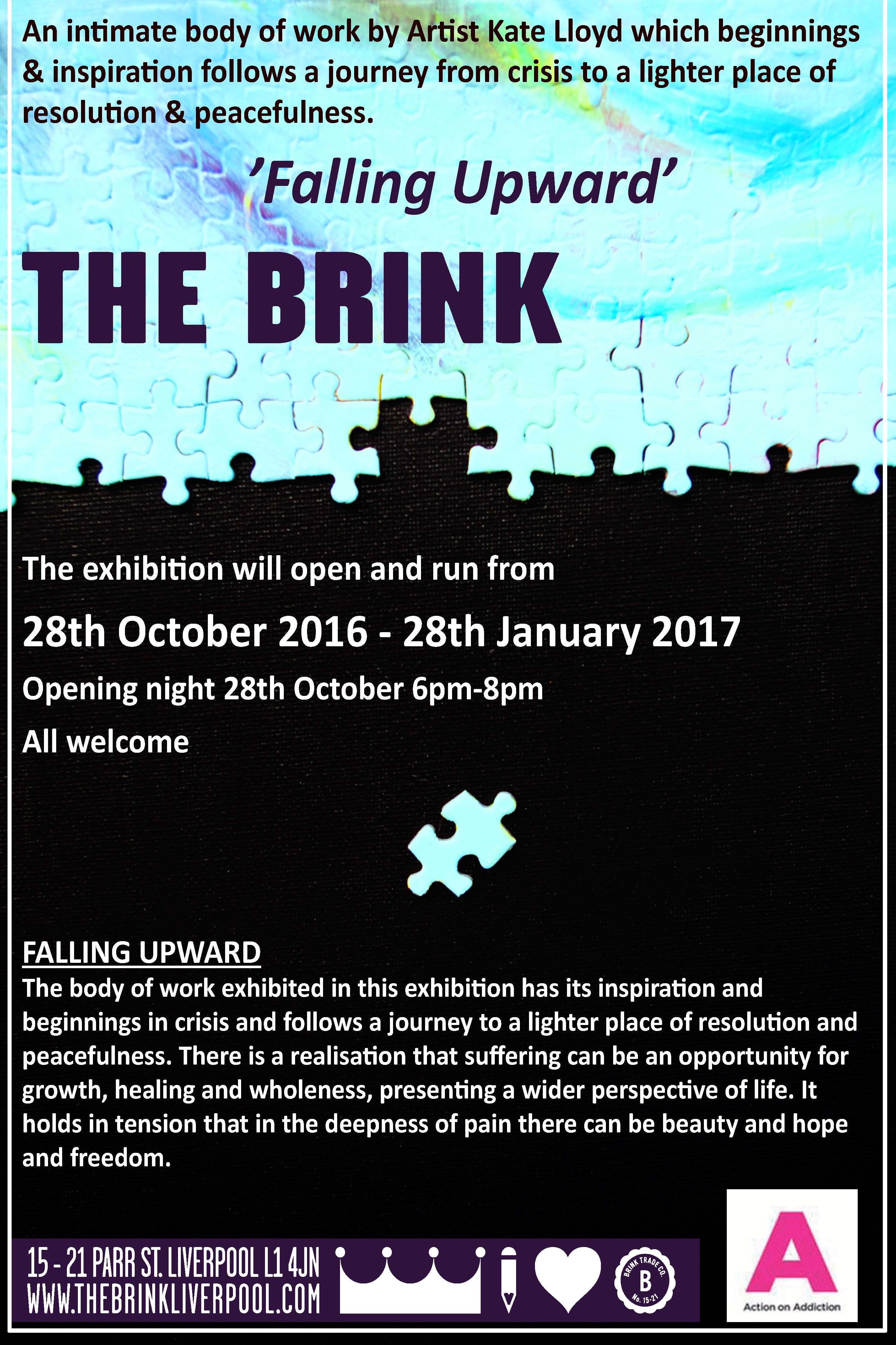 The Brink: Falling Upward, Kate Lloyd
