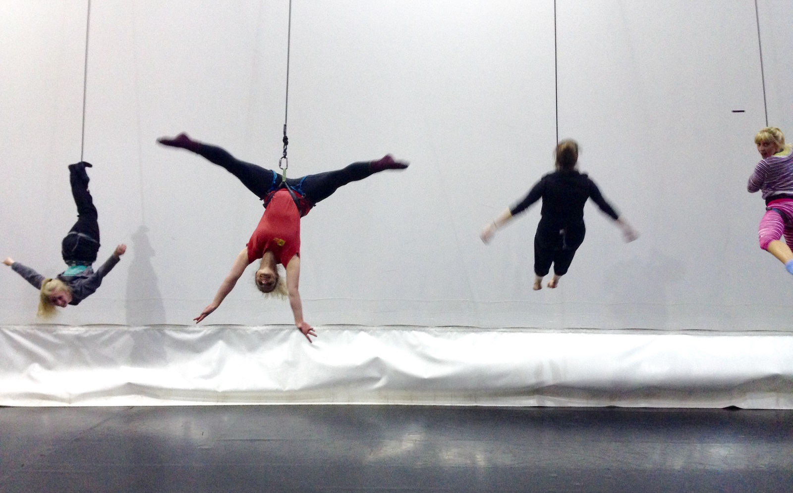 Wired Aerial Theatre: Taster Day at The Higher Space