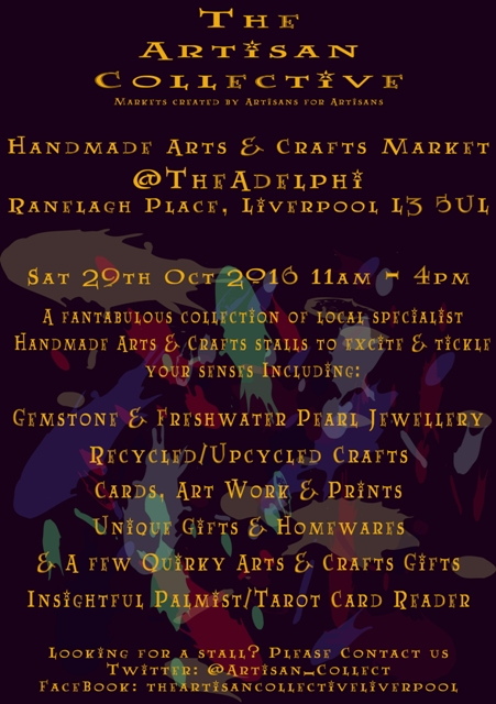 The Adelphi: The Artisan Collective October Handmade Arts & Crafts Market
