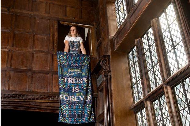 Speke Hall: Alice May Williams, Artist Tour