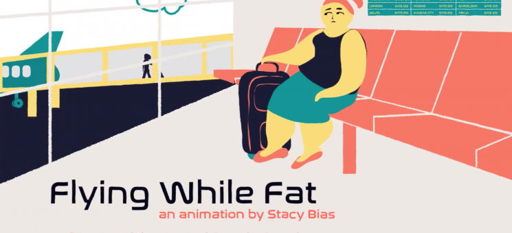 DaDaFest: Flying While Fat Animation by Stacy Bias