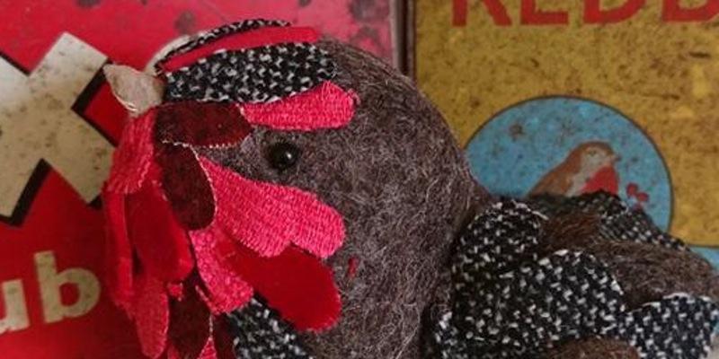 Williamson Art Gallery: 3D Fabric Robin Workshop