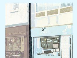 Bold Street Coffee: Linocuts by Dan Howden