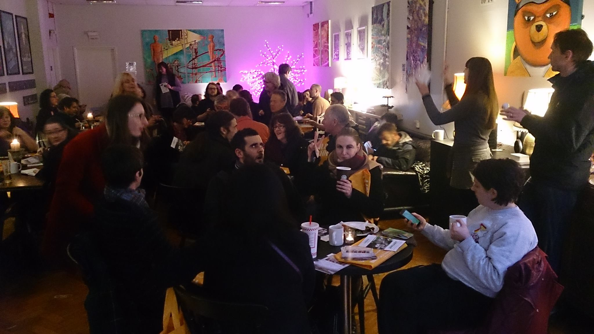 Liverpool Artists' Network, Office Christmas Party
