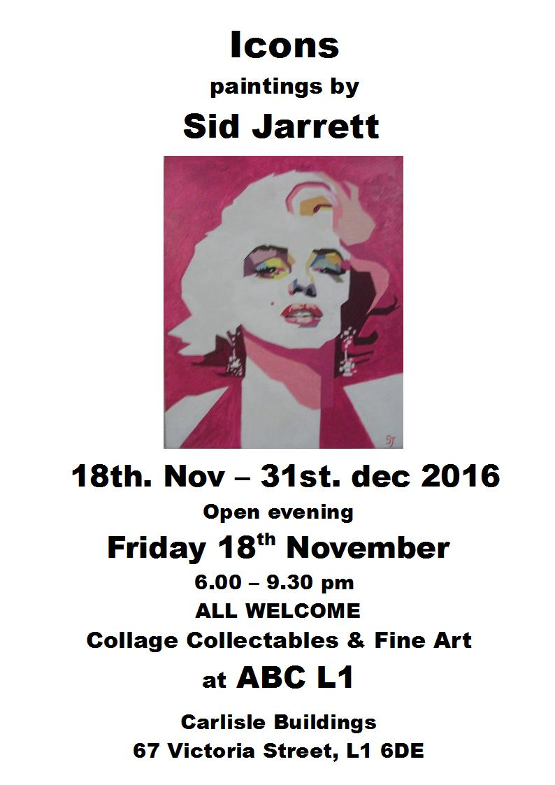 ABC L1: Icons paintings by Sid Jarrett