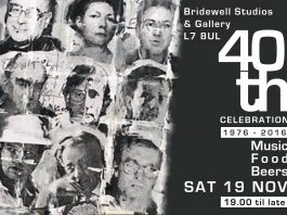 The Bridewell Studios and Gallery: 40th Anniversary Party