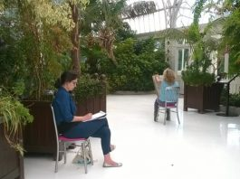 Palm House: dot-art: Sketching in the Palm House with Eimear Kavanagh