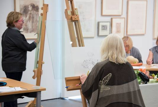 Kirkby Gallery: Free adult drawing classes