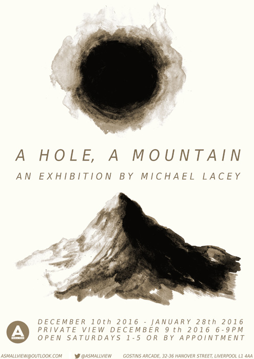 A Small View: A HOLE, A MOUNTAIN: Michael Lacey