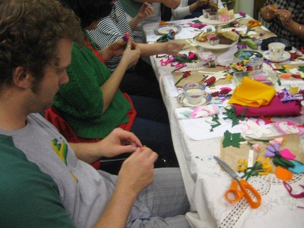 Bridge Cottage: Claire Bates craft workshops