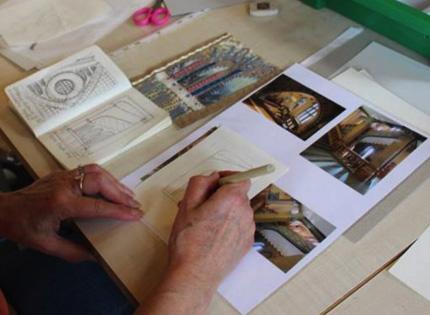 Bridge Cottage: Juliet Staines Textile Workshop