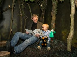 Liverpool ONE: Bear Hunt, Chocolate Cake & Bad Things, Michael Rosen
