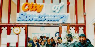 Asylum Link Merseyside, City of Sanctuary - Momuntary Monument raises money