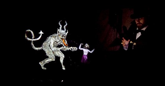 Williamson Tunnels: Magic Lantern Ghost Show