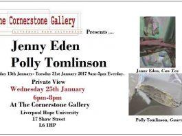 Cornerstone: Polly Tomlinson & Jenny Eden