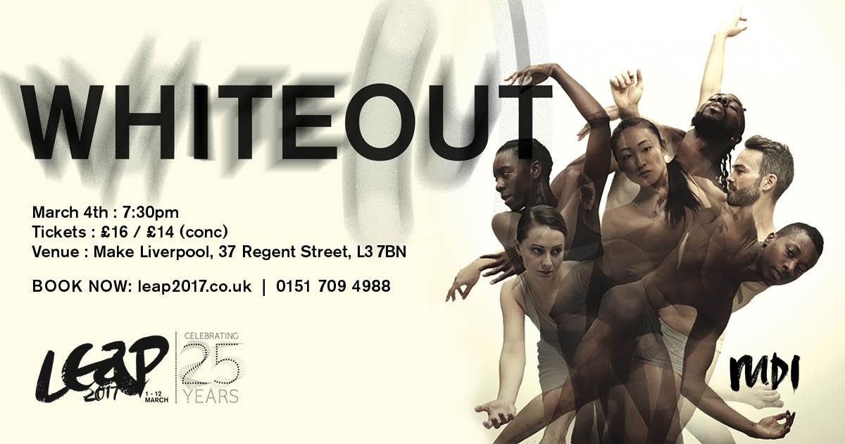 MDI: LEAP at Make Liverpool: Barrowland Ballet: Whiteout