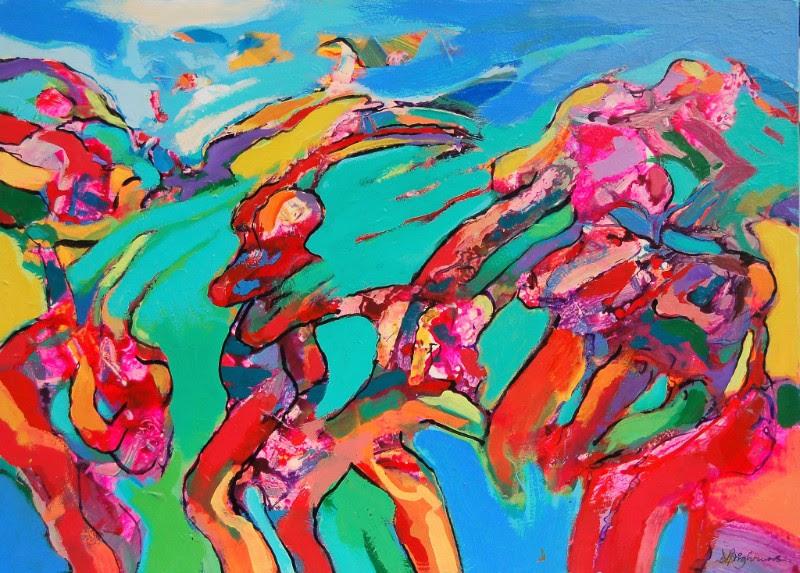 dot-art: The Figure, Faith Bebbington & David Brightmore