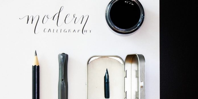 Make liverpool modern calligraphy workshop