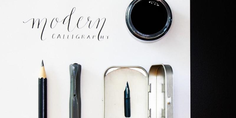 Make liverpool modern calligraphy workshop