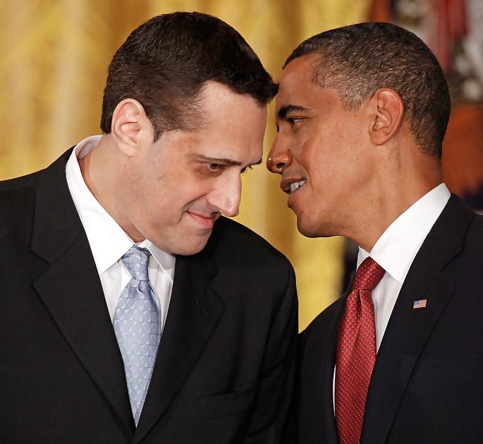 Stuart Milk & President Obama White House Photo