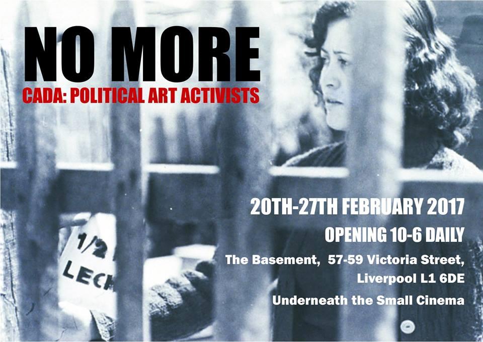 A Small Cinema: No More, CADA: Political Art Activists