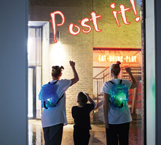 Bluecoat: INHABIT: Jo Blowers presents Post-It