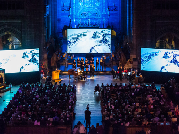Matt Thomas, Anglican Cathedral, LightNight 2016